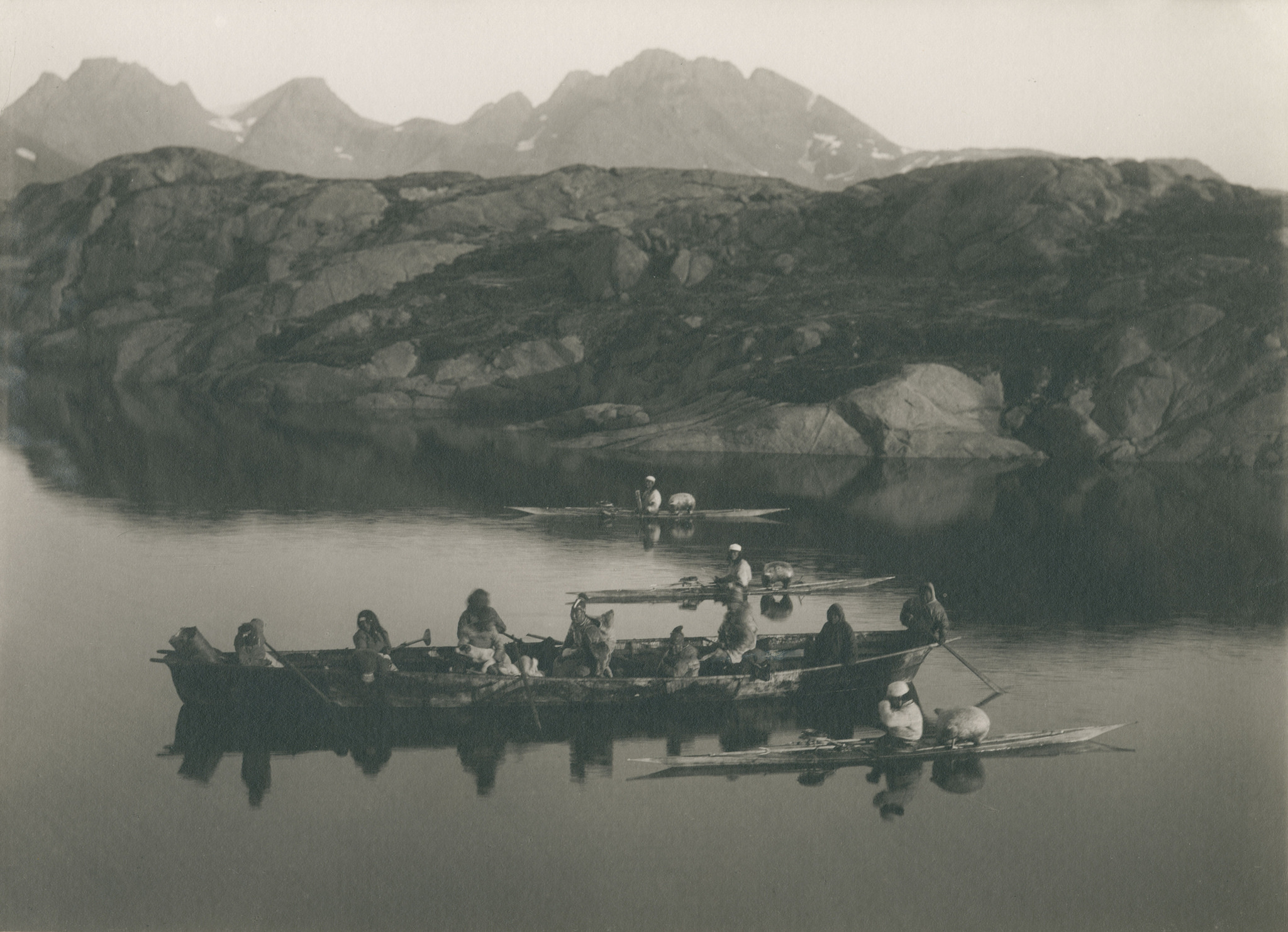 Inuit tribes kayaking