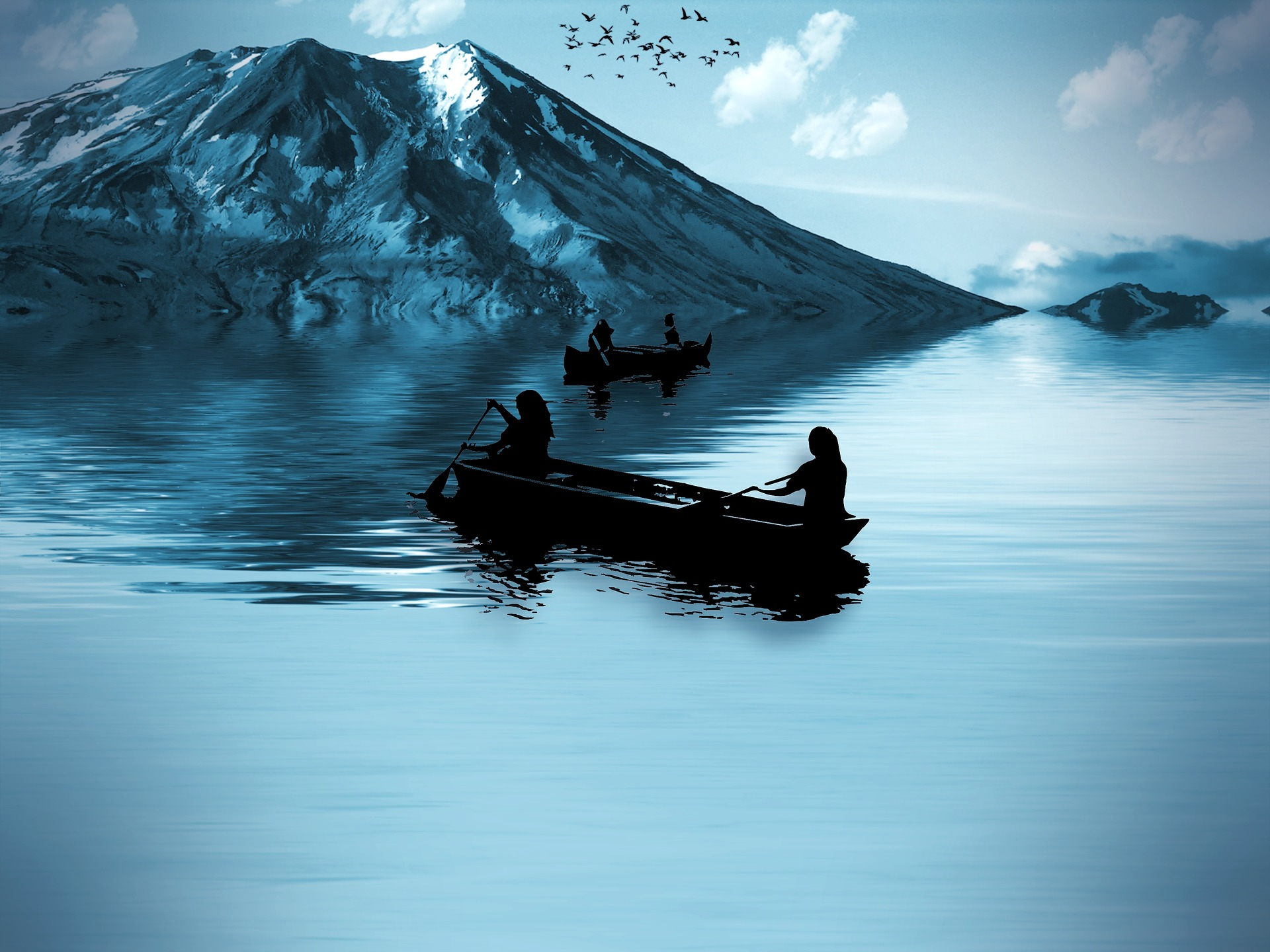 History of Kayaks and Canoes