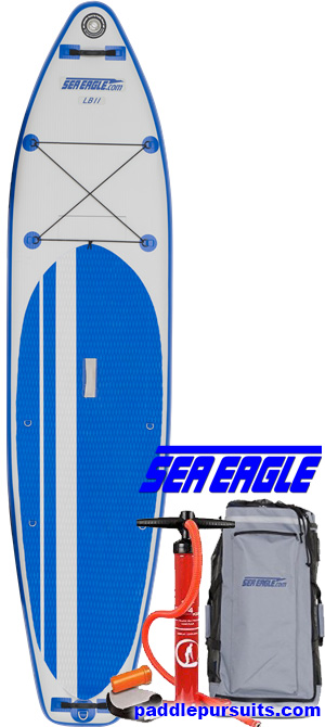 Sea Eagle LB11 Inflatable standup paddleboard