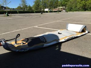 Thurso Surf Waterwalker 10'6 blow up inflatable paddleboard