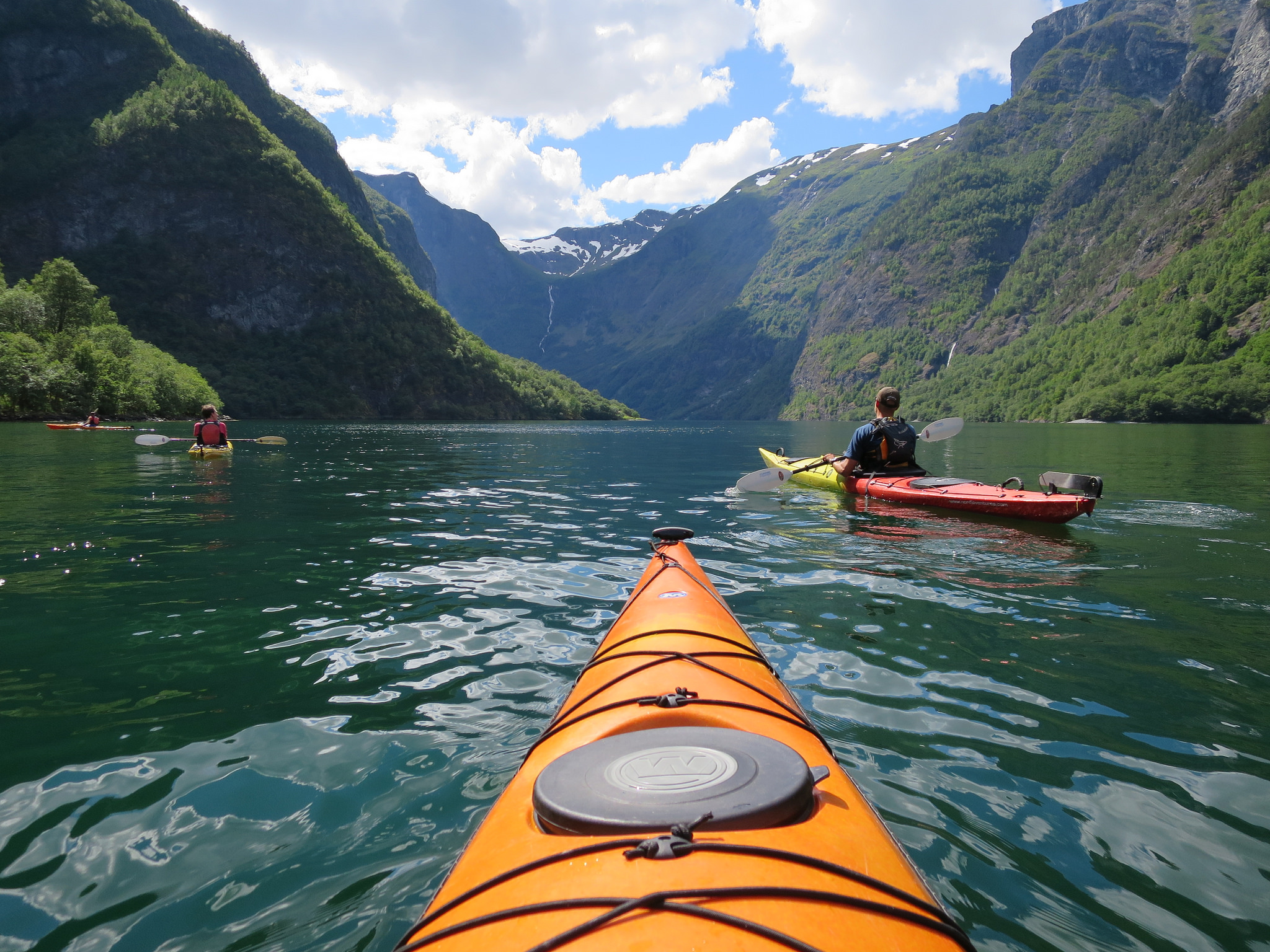 Bond with nature through kayaking