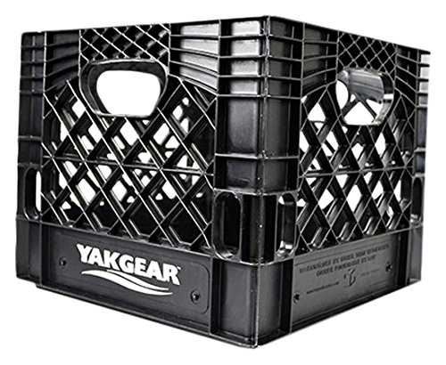 Yak Gear Kayak Fishing Milk Crate