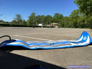 iRocker 10'6 Cruiser paddleboard - inflating easy and quick